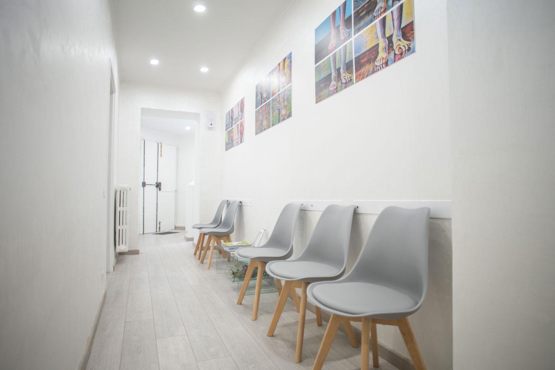 podologia parioli sala di attesa 2